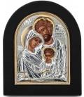 Ασημένια Εικόνα Αγία Οικογένεια 206-G
