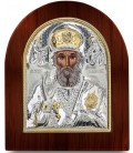 Ασημένια Εικόνα Άγιος  Νικόλαος 207-G