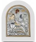 Ασημένια Εικόνα Άγιος Γεώργιος 208-G