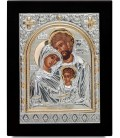 Ασημένια Εικόνα Αγία Οικογένεια 306-G