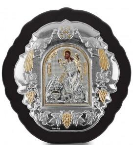 Ασημένια Εικόνα Άγιος Ιωάννης 409-G