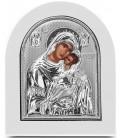 Ασημένια Εικόνα Παναγία Γλυκοφιλούσα 202-S