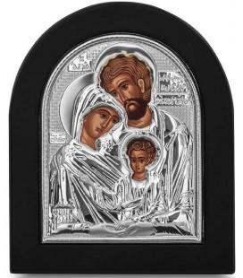 Ασημένια Εικόνα Αγία Οικογένεια 206-S