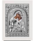 Ασημένια Εικόνα Παναγία Γλυκοφιλούσα 302-S