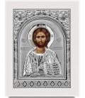 Ασημένια Εικόνα Χριστός Ανοιχτό Βιβλίο 305-S