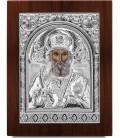 Ασημένια Εικόνα Άγιος  Νικόλαος 307-S