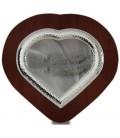 Ασημένια Στεφανοθηκη Καρδια  Σφυρηλατη