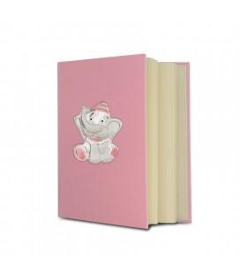 Αλμπουμ Ελεφαντακι 20x25 Ροζ