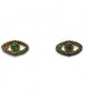 Σκουλαρίκια από ασήμι 925 μάτι SK4246