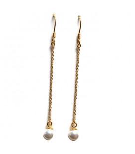 Σκουλαρίκια κρεμαστά από ασήμι 925  sk4259