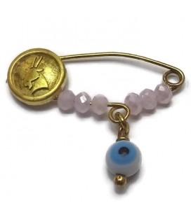 παραμανα-φυλαχτο ασήμι 925 ζώδιο Αιγόκερως Girl G