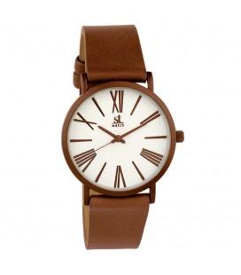 Ρολόι Season St Scorpion Vintage Series brown leather 2174-4