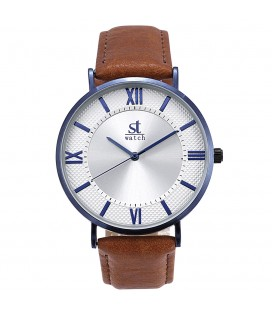 Season Time WATCH 2177-7 Empire Brown  Leather Strap