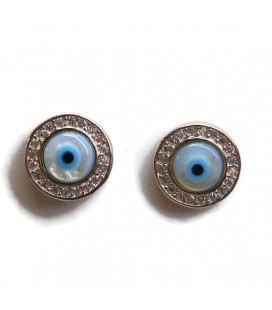 Σκουλαρίκια μάτια από ασήμι 925