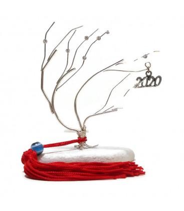 Δέντρο της ζωής επασημωμένο σε βότσαλο 2020