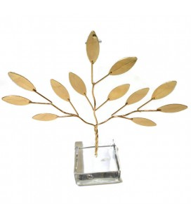 Χειροποίητο διακοσμητικό δέντρο επιτραπέζιο