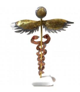 Χειροποίητο διακοσμητικό σύμβολο του Ιπποκράτη επιτραπέζιο