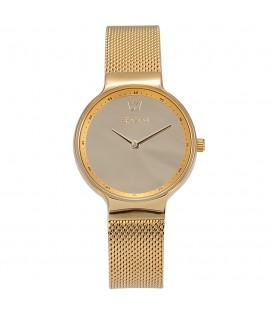 Season Time WATCH Mirror Series Gold Stainless Steel Bracelet 4236-1