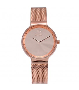 Season Time WATCH Mirror Series Rose Gold Stainless Steel Bracelet 4236-3