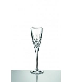 Ποτήρι σαμπάνιας κρυστάλλινο για γάμο 180
