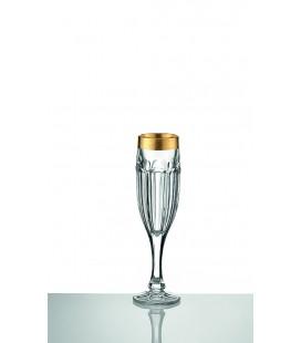 Ποτήρι σαμπάνιας κρυστάλλινο για γάμο 110