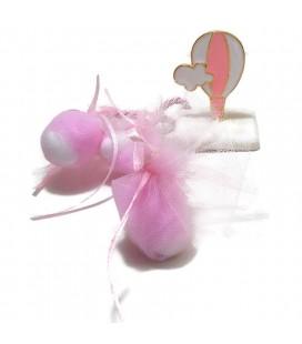Μπομπονιέρα επιτραπέζια αερόστατο MPOB8729