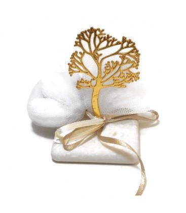 Μπομπονιέρα επιτραπέζια δέντρο της ζωής MPOB8778