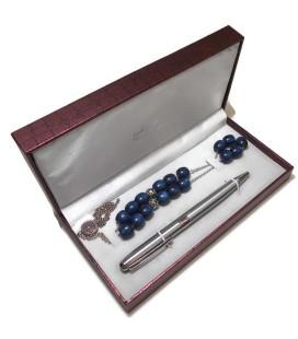Σετ στυλό με κομπολόι  σε πολυτελή κασετίνα ΟΕΜ 0529