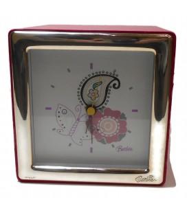 Ασημένιο ρολόι επιτραπέζιο Barbie